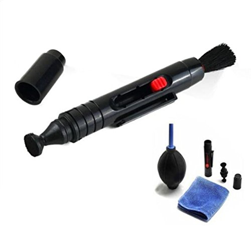 ledmomo Kamera-Objektiv-Reinigungsbürste Optische und Set Reinigungs-/Bläser-Rakete Luft Blaster für DSLR-Kameras und empfindliche Elektronik-Gerät