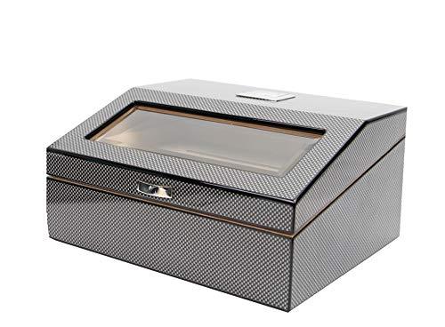 Decorebay Wood lined Electric Cigar Cabinet Humidor Cigar Case, Best Man...