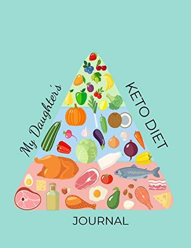 My Daughter's Keto Diet Journal: Macros & Meal Tracking Log Ketogenic Diet Food Diary 100,90,60,21 d