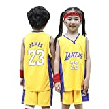 Dybory Garçons Filles Maillots, Uniformes De Basket-Ball Los Angeles Lakers Lebron # 23...