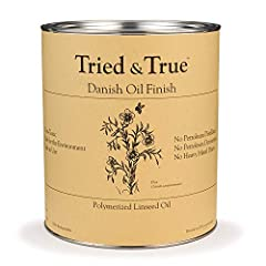 Danish Oil is a good choice for any wood work where you want a satin finish Two or three coats is typical for most applications Use on kitchenware, cutting boards, and children's furniture, since it is food safe and non-toxic Zero VOC's, non-toxic, s...