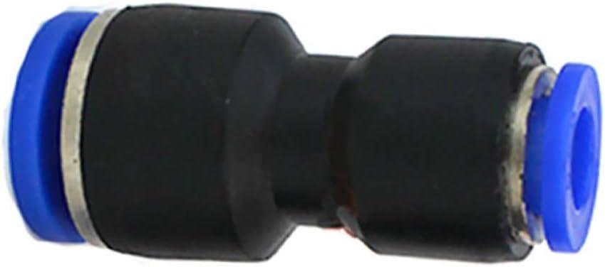 outils pneumatiques raccord coud/é 6 mm SENRISE Lot de 2 connecteurs pneumatiques coudes//droits//type Y//type T r/éducteur de tube dair pour connexion rapide de tuyauterie dair