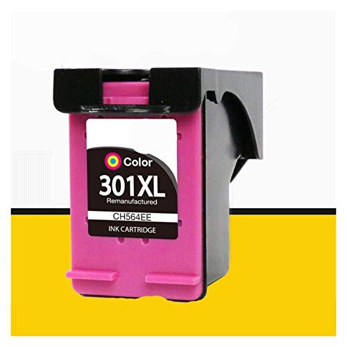 CMDZSW 2 Piezas y 1 Set se Puede reemplazar para HP301 HP 301 XL Deskjet DeskJet 2050S 2510 2540 3050A 3054 1000 1050 1510 2000 2050 Impresora (Color : 1 pc 301 Color)