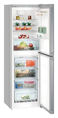 Liebherr cnel 4213–21NoFrost autonome 294l A + + Silber–réfrigérateurs-congélateurs (294l, sn-t, 42dB, 8kg/24h, A + +, silber)