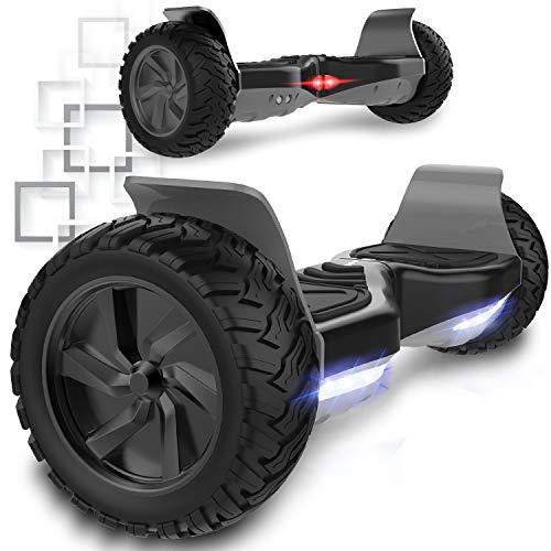 MARKBOARD Hover Scooter Board Elektro Scooter Hoverboard 6,5zoll E-Balance Scooter E-Skateboard Self Balance Board mit Bluetooth - LED Lichter - EU Sicherheitsstandard - Starke Leistung