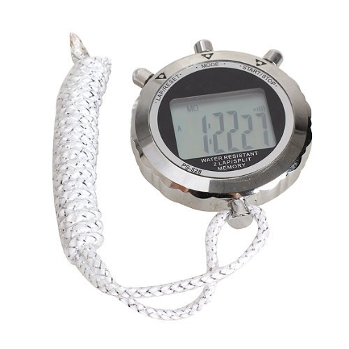 Broadroot Chronograaf Metaal Digitale Timer Stopwatch Sport Counter Waterdichte Stopwatch