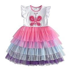 White Short Sleeveless Tutu Dress Sh4556