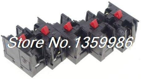Lysee Screws Max 83% OFF - LOT OF 5 BLOC NC CONTACT TELEMECANIQUE 5 ☆ popular ZB2-BE101C