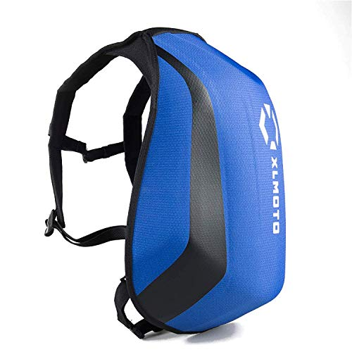 xlmoto Zaino Moto Slipstream Resistente all\'Acqua 24L (Blu)