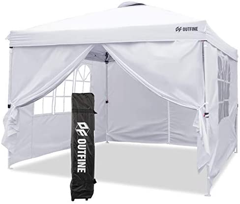 OUTFINE Canopy 10 x10 Pop Up Commercial Instant Gazebo Tent Fully Waterproof Outdoor Party Canopies product image