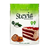 Fibrelle Fiber Rich Stevia Sweetener for Baking, 14 Oz Bag. Best and Healthy Sugar Substitute for Cakes, Coffee and Tea, Good for Digestion Low Calorie and Diabetic Friendly