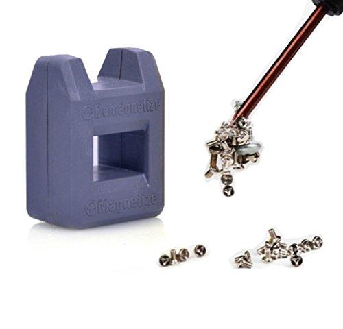 Hohe Qualität Mini 2 In 1 Magnetiseur Entmagnetisierer Werkzeug Schraubendreher Magnetische Handwerkzeug Schraubendreher Tipps Bits