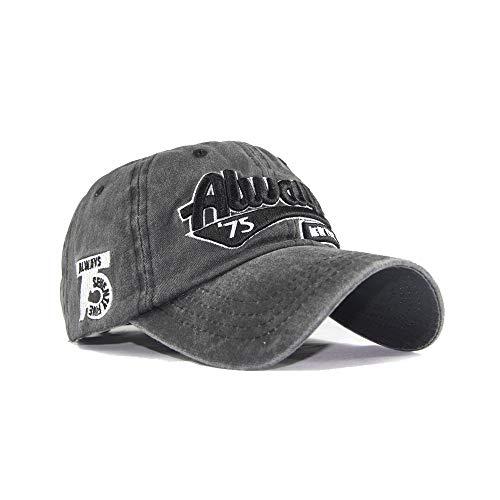 Yutdeng Vintage Gorra de béisbol Bordado New York Bordado Sombrero de Baseball para Hombre Hip-Hop Mode Snapback Ajustable Cap Mujer Sombrero de Deportes al Aire Libre