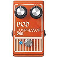 DigiTech DOD280 Compressor Guitar Effects Pedal (Red)