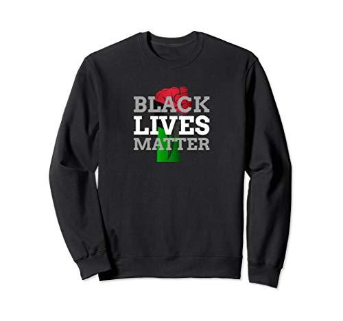 Black Lives Matter Juneteenth Afrikanische Flaggenfarben Sweatshirt