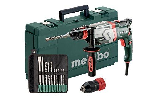 Metabo UHEV 2860-2 Quick Set SDS-Plus Combihamer incl. 10 delig boor- en beitelset in koffer - 1100W - 3.4J