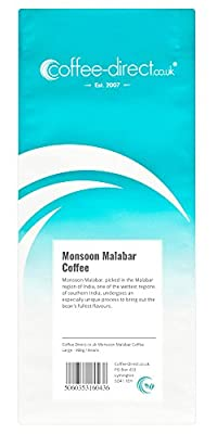 Coffee Direct Monsoon Malabar Coffee Beans 908 g