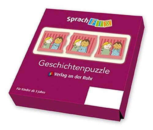 Sprachfix - Spiele zur Sprachförderung: Geschichtenpuzzle - Set 1