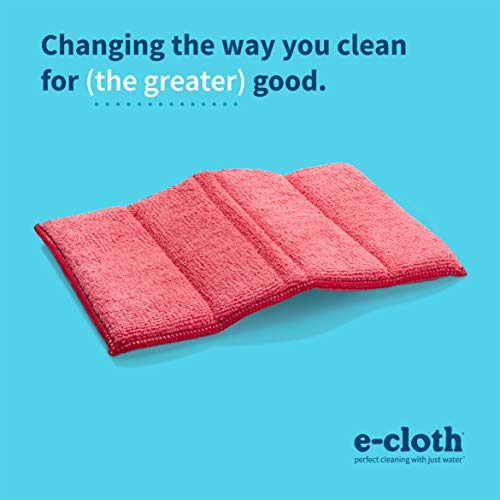 E-Cloth Cleaning Pad Microfiber Cloth, Red