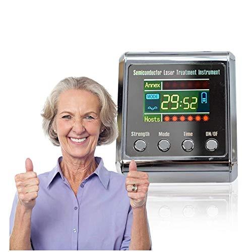 ZPENG Reloj de Pulsera de Terapia con láser, Instrumento de Tratamiento con láser semiconductor, Equipo de Fisioterapia con congestión Nasal