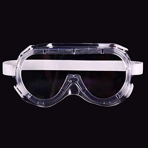 Schutzbrille Transparent Medizinische Arbeitsschutzbrillen - Anti Nebel Staubdicht Anti Impact Spritzfest - zum Labor Arbeitsplätze Chemie - Augenschutz - Indirekte entlüftung