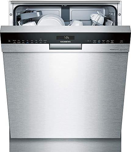 Siemens IQ500sn458s01pd Semi integrierter 13places A + + + Spülmaschine–Geschirrspülmaschinen (Semi Integriert, Edelstahl, Full Size (60cm), schwarz, griffig, 1,75m)
