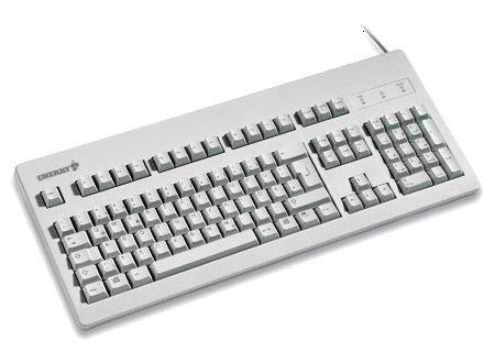 Cherry G80-3000 Tastatur USB mit PS/2 Kombi deutsch