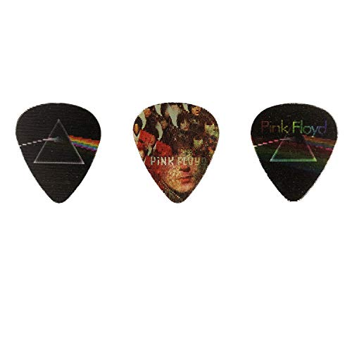 Perri's Leathers Ltd. - Motion Guitar Picks - Pink Floyd - Dark Side of the Moon - Official Licensed Product - 6 Pack - MADE in CANADA.