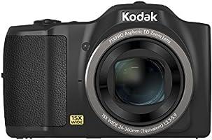 Kodak Kamera PIXPRO FZ152 - czarna (16 MP 15 x zoom 24 mm szeroki obiektyw OIS HD)
