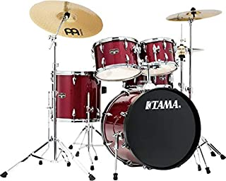 Tama Imperialstar Complete Drum Set - 5-Piece - 20 Inches Kick - Candy Apple Mist