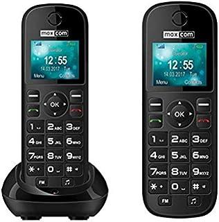 MaxCom MM35D - Teléfono (Teléfono DECT, Terminal inalá