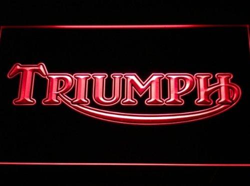 Triumph LED Zeichen Werbung Neonschild Rot