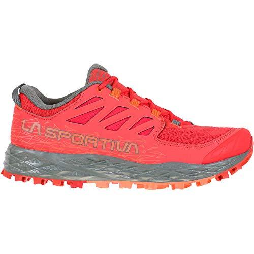 LA SPORTIVA Lycan II Woman, Zapatillas de Trail Running Mujer, Hibiscus/Clay, 38.5 EU