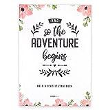 Tagebuch Braut, Hochzeitstagebuch, süßes Geschenk für die Braut und perfekt zur Verlobung, Hardcover, Erinnerungsalbum an die Zeit vor der Hochzeit