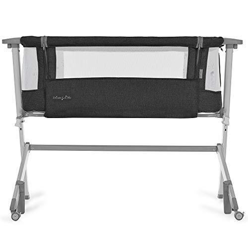 41Ha4dW3vlL - Baby Bassinet RONBEI Bedside Sleeper Adjustable Portable Bed