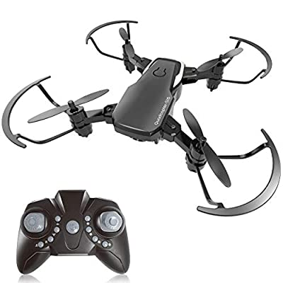 BOBOO drone Foldable RC Quadcopter with Altitude Hold Mode - Black
