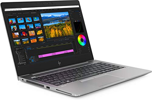 14-inch HP ZBook G5 LCD Quad-Core i7 Mobile Workstation