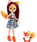 Enchantimals Felicity Fox y Flick, muñeca con mascota (Mattel FXM71)...
