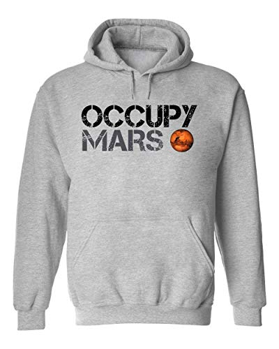 Occupy Mars Space Planet SpaceX Unisex Kapuzenpullover Sweat Hoodie XX-Large