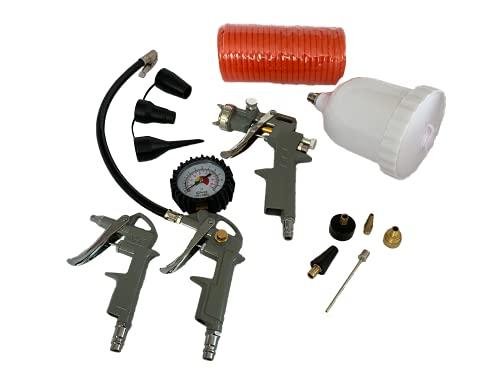 HEMAK 12 tlg. Druckluftset Kompressor Zubehör Druckluft Set