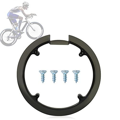 TANCUDER Paracatena Bicicletta Classico Copricatena per Bici in Plastica MTB Protettivo Copricatena Bicicletta Universale per 42T/44T Mountain Bike (Diametro 20CM)