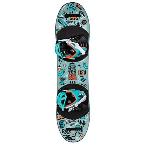 Burton After School Special Snowboard w/Bindings Kid's Sz 80cm