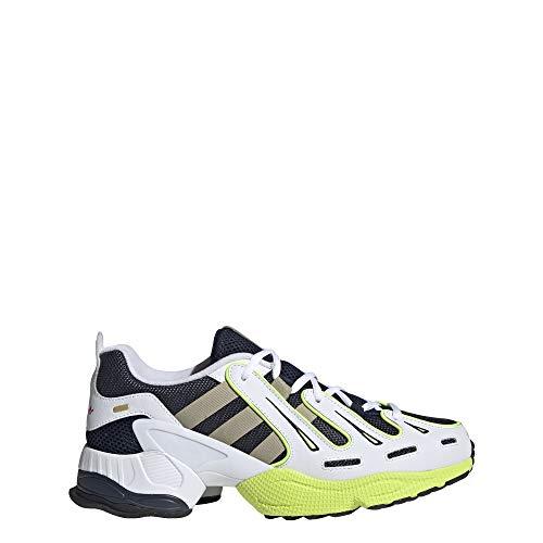 adidas EQT Gazelle - Zapatillas para hombre, Azul (Azul marino/oro rojo/amarillo solar.), 45 EU