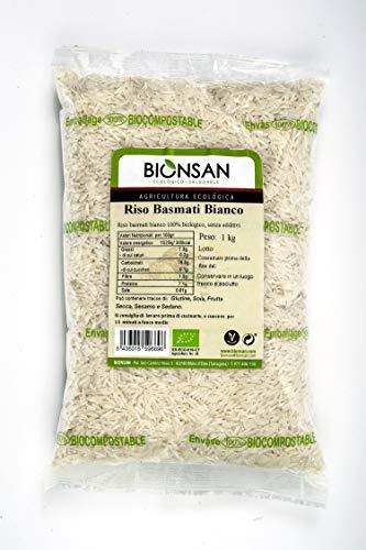 Bionsan Arroz Basmati Integral - 1000 gr.
