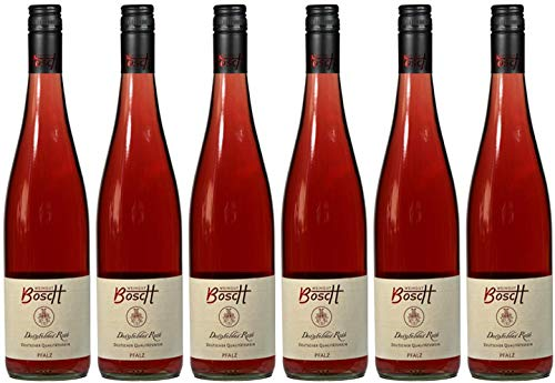 6x Dornfelder Rosé lieblich 2019 - Weingut Bosch, Pfalz - Rosé