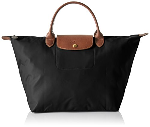 Longchamp Women's Le Pliage Medium Handbag, Black