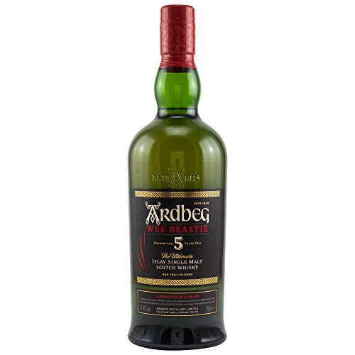 Ardbeg Wee Beastie 5 y.o. - 47,4% Vol 1x0,7L Single Islay Malt Scotch Whisky