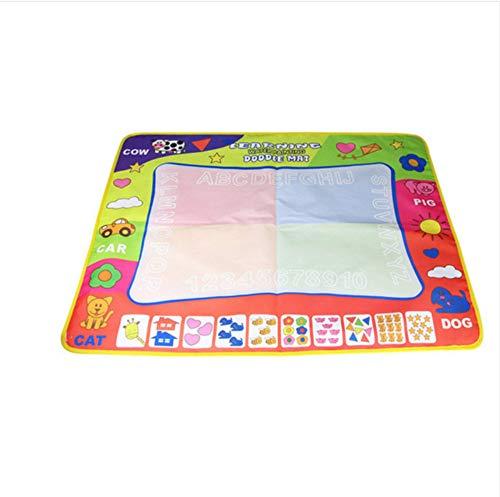 scldream Pädagogische Kinder Magie Wasser Leinwand Decke Matte Schreiben Graffiti Stift Baby Spielzeug Kreative Wiederverwendung 30x20cm
