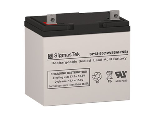 Battery Replacement Compatible with AJC D55S NB - 12 Volt 55 Amp Hour SLA Rechargeable Battery
