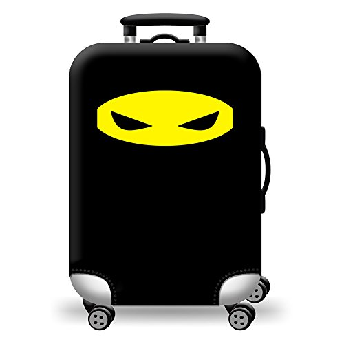 Covered Printed Luggage Protective Cover